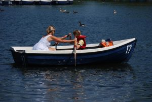 family fitness rowing